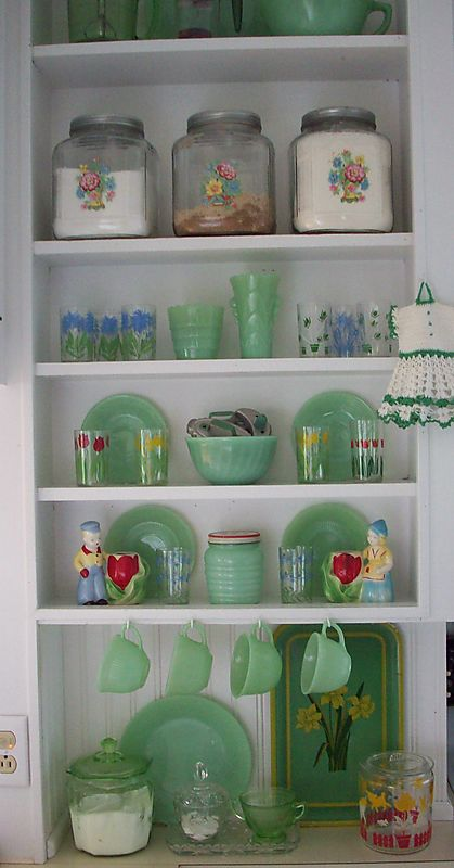 Shelf one jar
