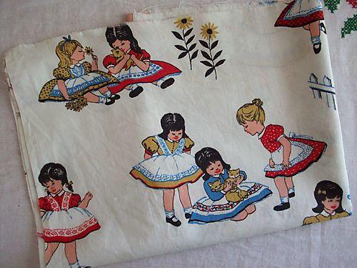Girl fabric