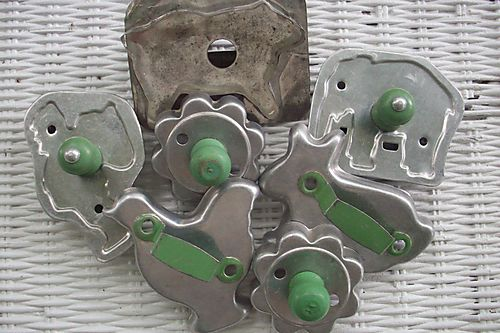 Weekend green cookie cutters