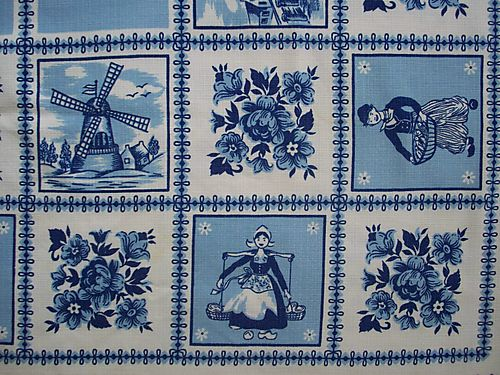 Dutch tablecloth