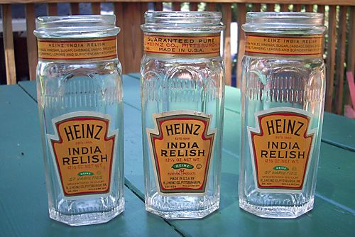 Relish jars