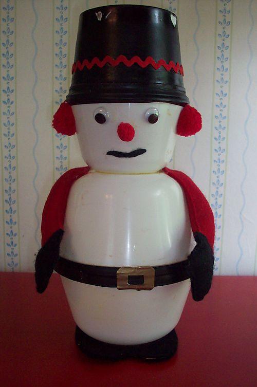 Bad craft snowman