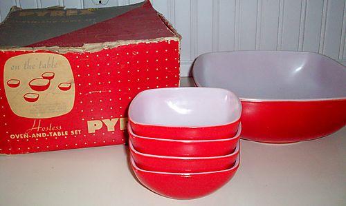 Red pyrex