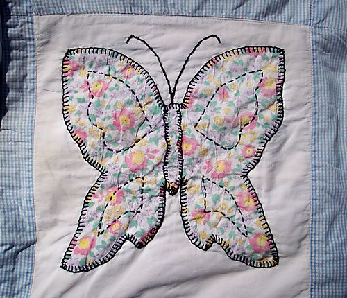 Another flowered butterfly