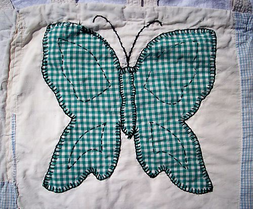 Gingham butterfly