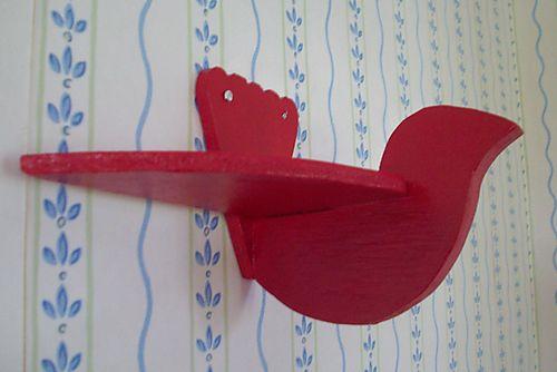 1 red bird