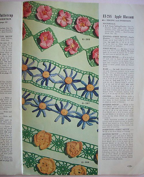 Page of edgings
