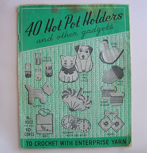 Pot holder book