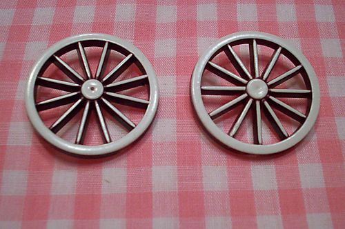 Wagon wheel buttons