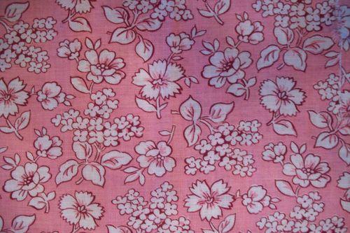 Pink feedsack