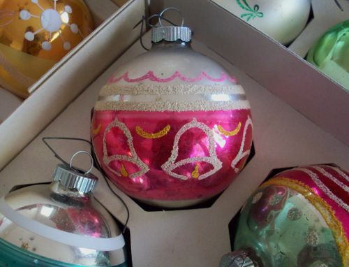 Pink bell ornament