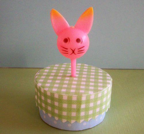 Pick pink bunny