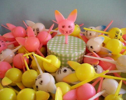 Picks lots of bunnies