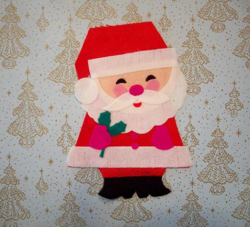 Santa on background