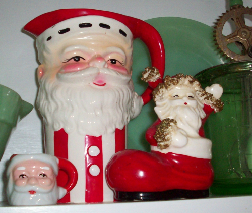 Santa pitcher