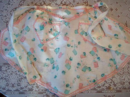 Rose apron overall
