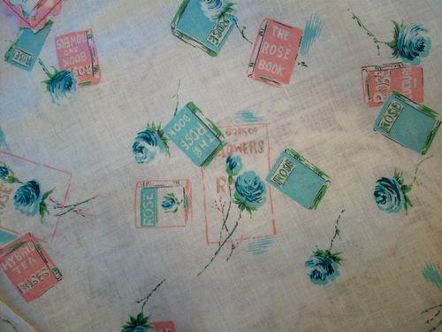 Rose apron fabric
