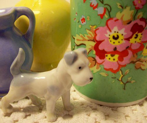 Dog and mug