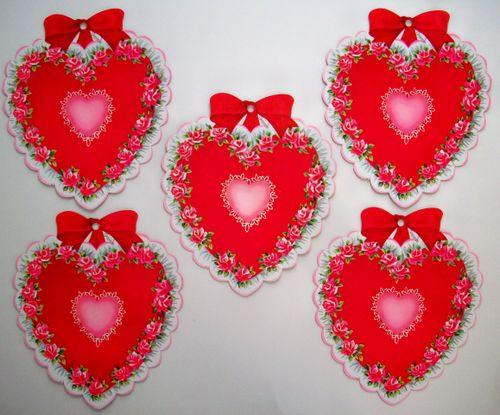 Hearts diecuts