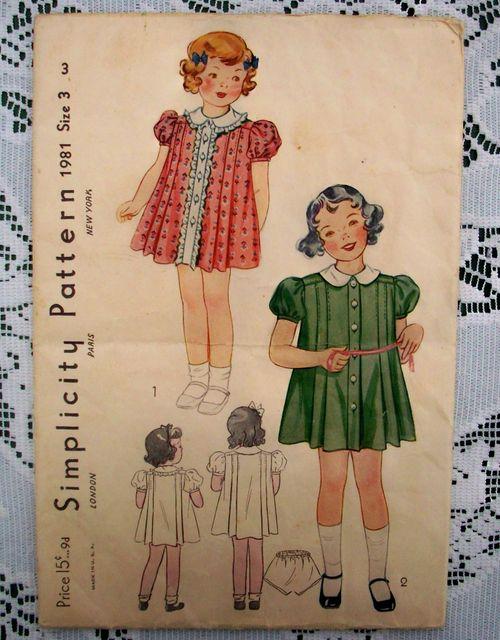 Pattern little girl