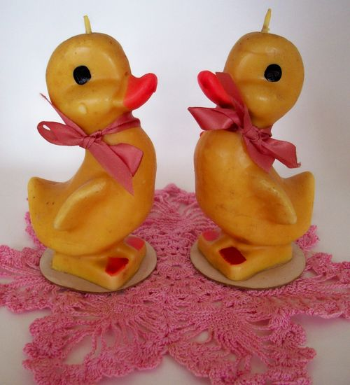 Chick candles