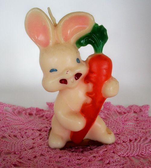 Big bunny candle