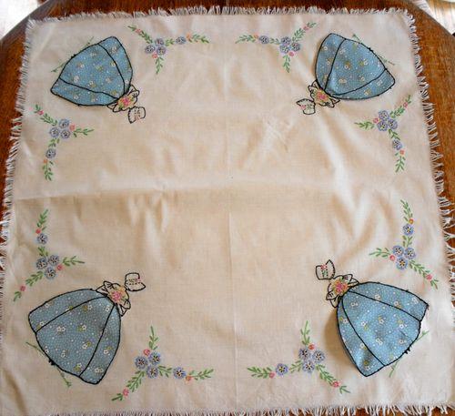 Bridge set overall tablecloth