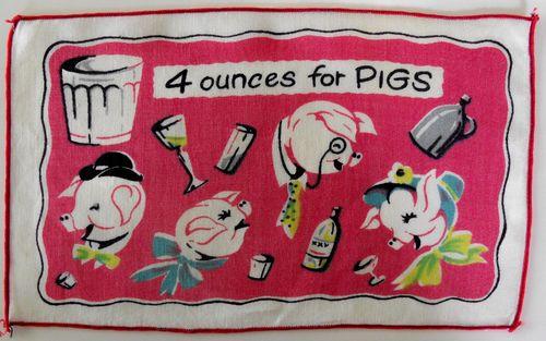 Napkins 1 pig