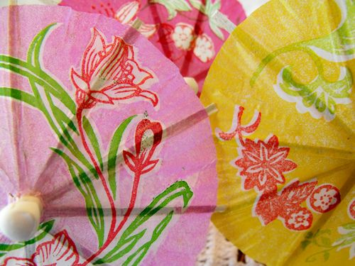 Umbrella lt pink