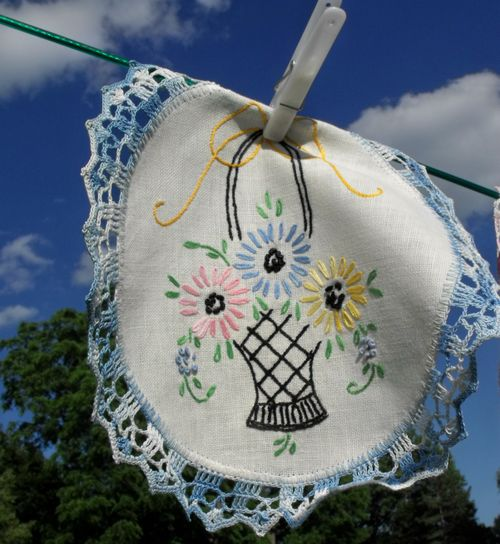 Laundry one doily on line