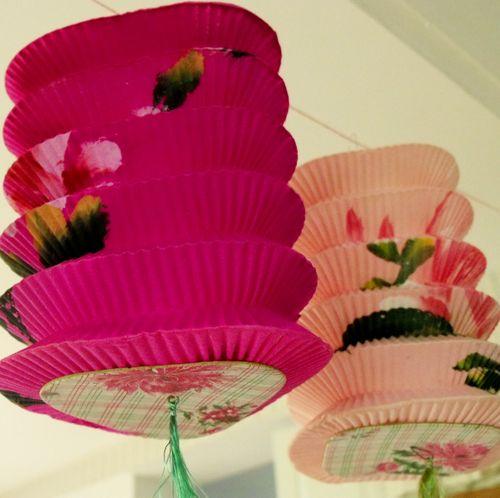 Lanterns 2 pink