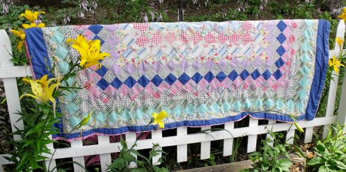 Quilt on fence