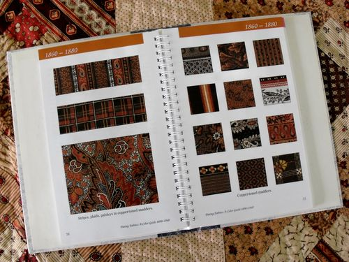 Br quilt w book