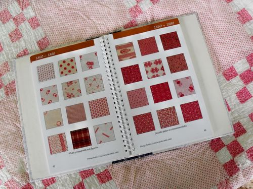 Br pink quilt w book