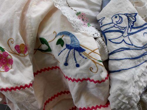 Emb tablecloths
