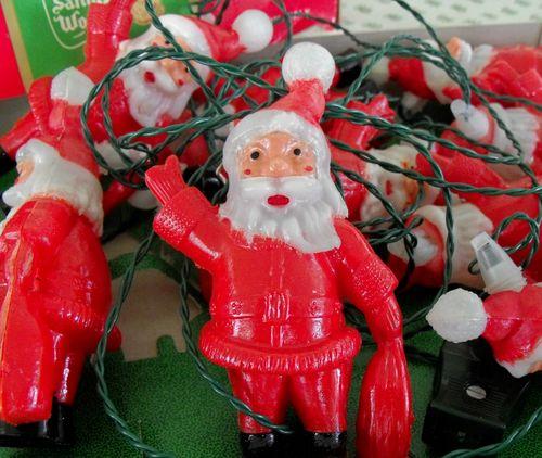 Santa lights