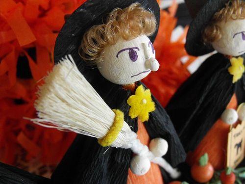 Witch closeup