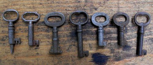Line of keys