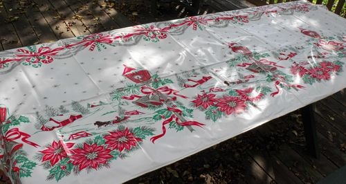 Tablecloth christmas 1