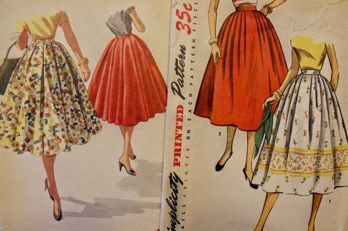 Full skirts
