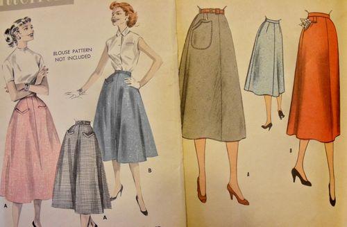 Pocket skirts