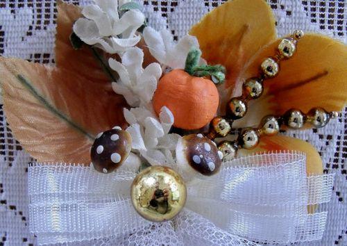 Fall corsage