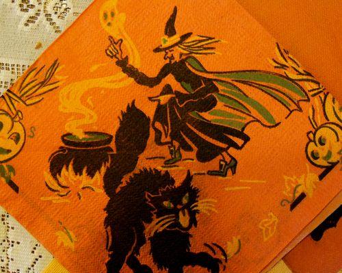 Witch napkin