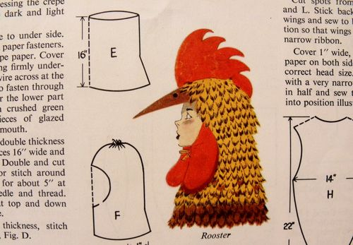 Costume rooster