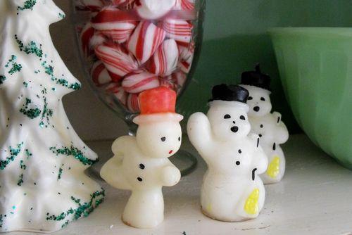 Hoosier snowmen candles 2