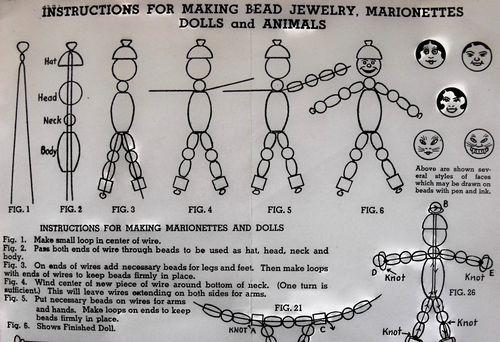 Wood bead 5 directions