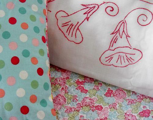 Pillows close
