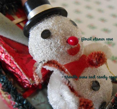 Blog snowman face