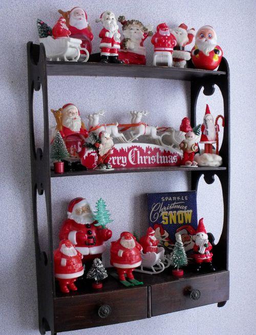 Santa shelves