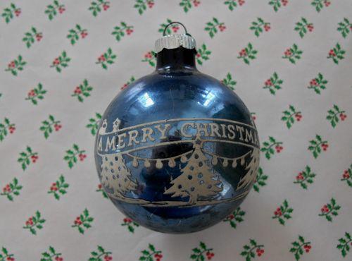 A merry christmas ball